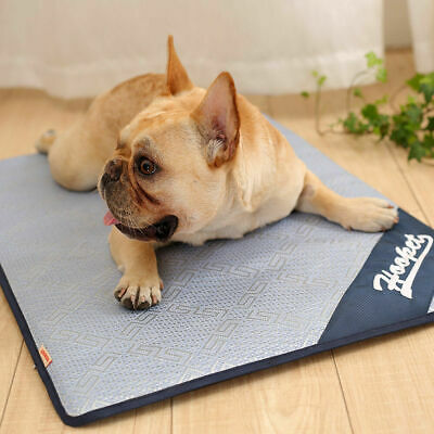 Pet Cooling Mat Non-Toxic Cool Gel Pad Cooling Pet Bed for Summer Dog Cat Hot