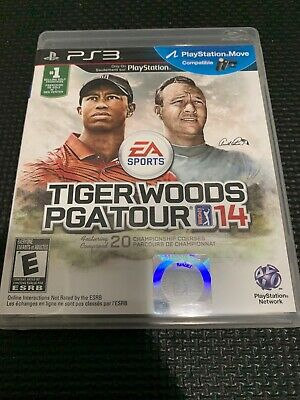 Tiger Woods PGA Tour 14 (Sony PlayStation 3, 2013) *Tested & Working*
