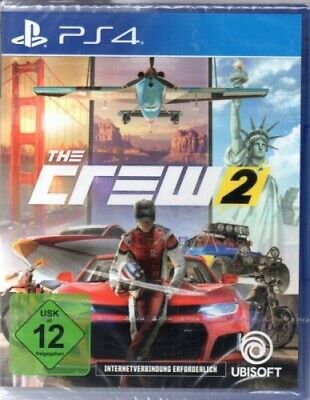 The Crew 2 - PlayStation PS4 - deutsch - Neu / OVP