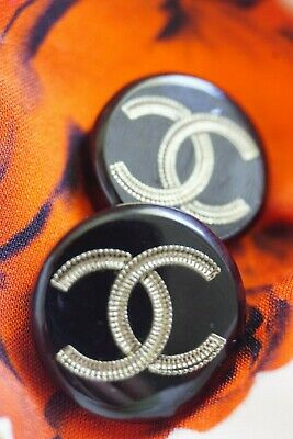 ❤🖤💘CHANEL BUTTON   LOGO CC   size 20 mm 0,8 inch Plastic price for 1 button