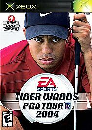 Tiger Woods PGA Tour 2004 Microsoft Xbox EA Sports Game Disc Only