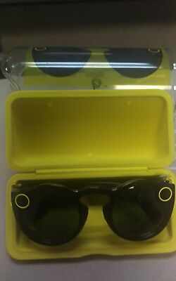 Snapchat Spectacles yellow Sun  glasses