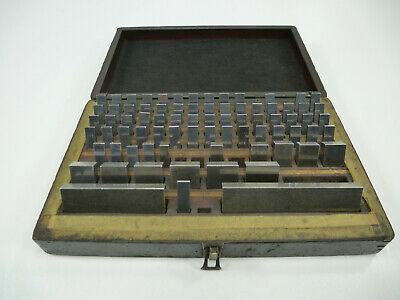 Dearborn Gage Ellstrom Machinists Gauge Block Set Incomplete *Read*
