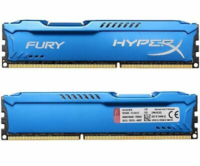 For 16GB 2X 8GB Kingston HyperX PC3-14900 DDR3-1866MHz CL11 DIMM Desktop RAM