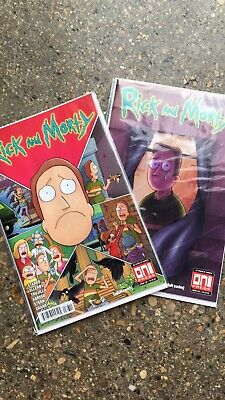 Rick and Morty Issue #8 Variant Print *We Combine Shipping*