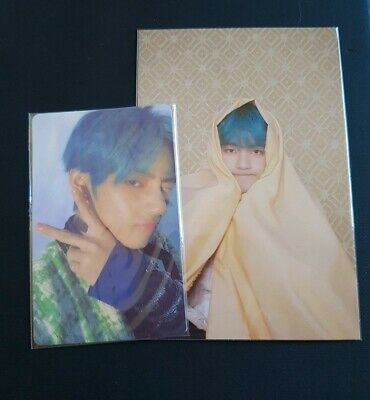 BTS Map of the Soul : Persona Photocard & Postcard - V (Taehyung) version 4