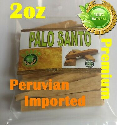 Palo Santo 2oz Premium Aromatic Holy Wood Stick Bursera Graveolens Sacred Wood !