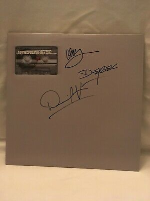 Signed Alkaline Trio 2000 Compilation Vinyl Record Autographed By ALL Punk Emo