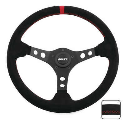 Grant Suede Series Steering Wheels Red 695