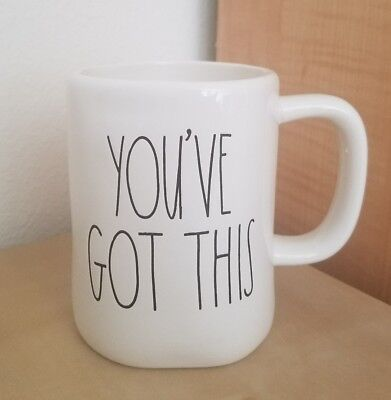 NEW RAE DUNN by Magenta YOU'VE GOT THIS Coffee Tea Mug Graduation Home Decor