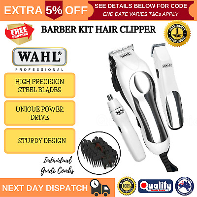 Wahl Hair Clippers Beard Trimmer Set Professional Grooming Shaver Cordless New
