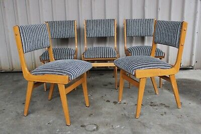 Set Vintage Retro Teak Dining Chairs Snelling Mid Century Table