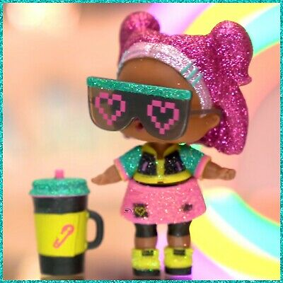 LOL Surprise Doll Sparkle Series VRQT w/ Ball, Accessories & Sealed New V.R.Q.T.
