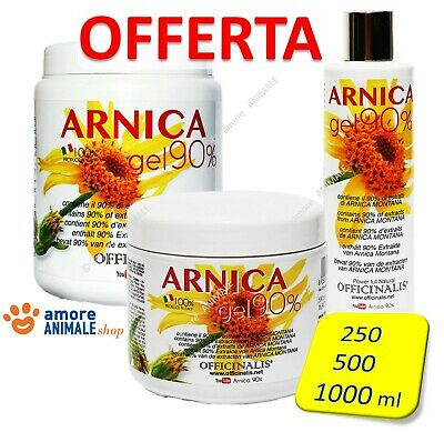 Officinalis ARNICA 90% Gel  10 / 250 / 500 / 1000 ml - Distorsioni muscolari