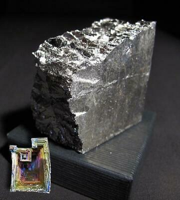 NSF- 1.8 kg ingot 99.99% Purity Bismuth Metal great for making Bismuth Crystals