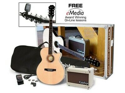 Epiphone PR-4E Acoustic-Electric Guitar Player Pack