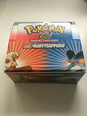 Pokemon EX Ruby and Sapphire Empty Booster Box