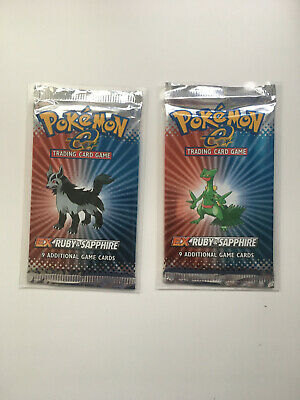 Pokemon Ex Ruby and Sapphire Booster Pack(1) English