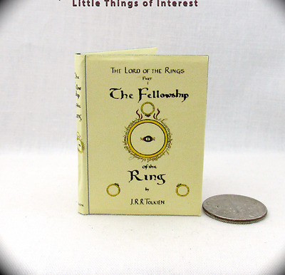 1:6 Scale FELLOWSHIP OF THE RING ILLUSTRATED J.r.r. TOLKIEN Play scale Book