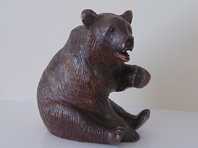 Large Antique Black Forest Bear