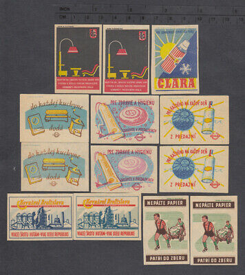Old Czechoslovakian /Slovakian/ Matchbox Labels after 1945 15.