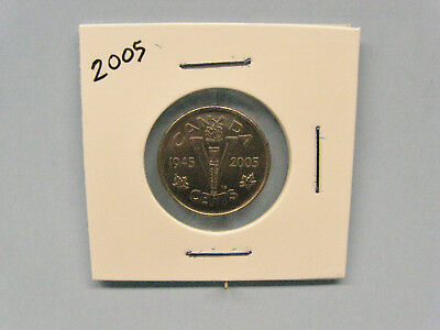 Canada 1945-2005 5 cent coin