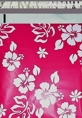 1-1000 6x9 ( Hawaiian Pink ) Boutique Designer Poly Mailer Bags Fast Shipping