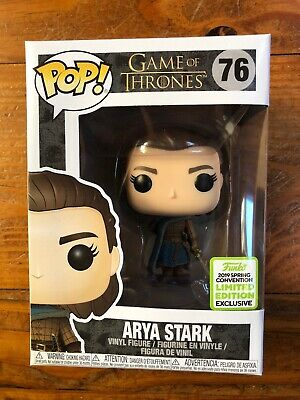 Funko Pop Game Of Thrones Series Arya Stark 2019 Eccc Limited Edition Exclusive
