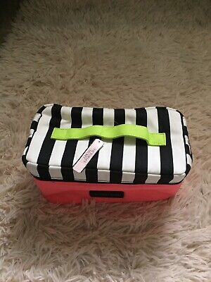 Victoria Secret Lingerie Bag New With Tag Pink Striped