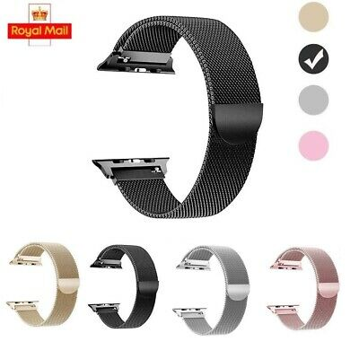 Milanese Loop Strap Watch Replacement Band Fit For Apple Watch Series 1/2/3/4