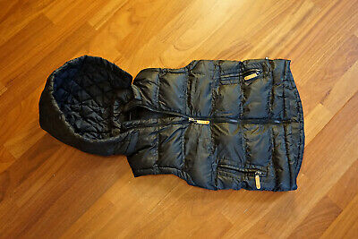 NEW Boys Bauhaus Warm puffy / puffer vest with detachable hood - Size 8