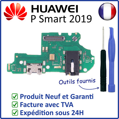 Nappe Circuit Connecteur De Charge Usb Prise Jack Micro Du Huawei P Smart 2019
