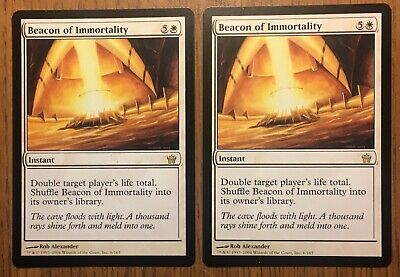 Slightly Played English 1 x MTG Beacon of Immortality Fifth Dawn