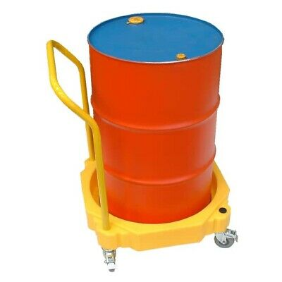4 Wheel Bunded Drum Trolley With Handle FLB0027