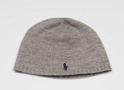 Ralph Lauren Grey Wool Hat * 4 - 7 * ONE SIZE