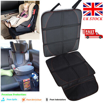 Child Baby Car Seat Protector Safety Mat Cushion Cover Non-Slip Waterproof Black