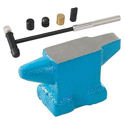 Jewellery Making Craft Tool Set Mini Anvil & Hammer Soft Face Shaping Ball Head