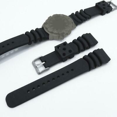 Replacement Strap Rubber Resin PU Silicone Waterproof Watch Strap 20mm/22mm
