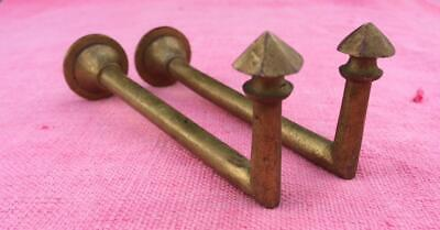 Vintage French Bronze Curtain Tie Back Holder Attractive Finial 11 Cms Long