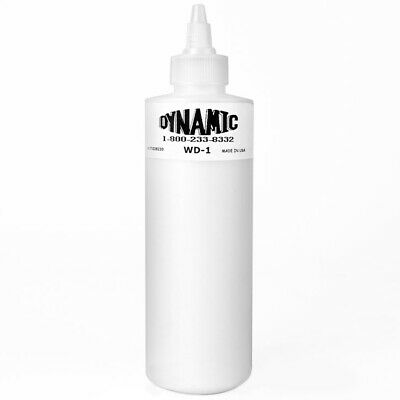 Dynamic White Tattoo Ink - 2 Sizes, Genuine Dynamic Brand Tattoo Ink