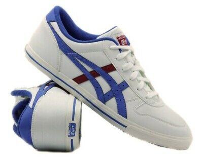 Junior Onitsuka Tiger aaron GS C3A4Y 0142 Casual White Lace Up Trainers