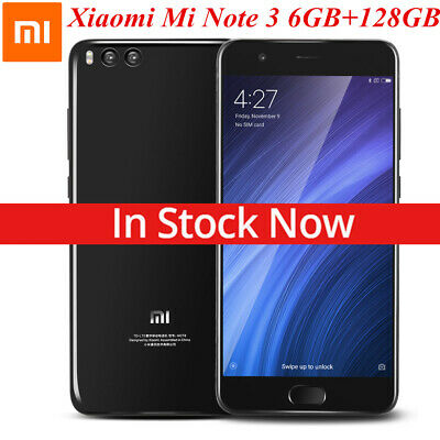 Xiaomi Mi Note 3 4G Smartphone Global Version Unlocked 6/128GB Handy Dual SIM EU