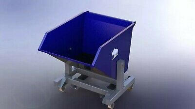 dump box for fork-lift transport PLANS