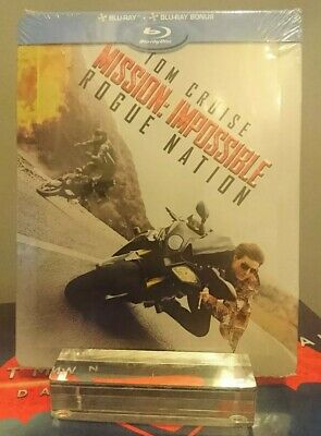 MISSION: IMPOSSIBLE ROGUE NATION bluray steelbook NEUF/NEW avec VF