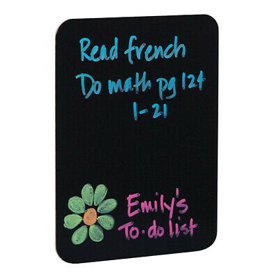 Flipside Black Dry Erase Board, 18 x 24 Inches
