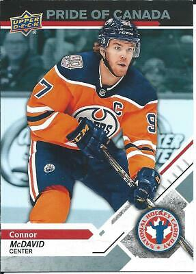 2019 NHL UD National Hockey Card Day CONNOR MCDAVID #CAN-10 Pride Of Canada