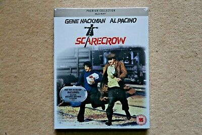 Blu-Ray Scarecrow ( Gene Hackman ) Premium Exclusive Edition New Sealed Uk Stock