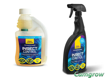 Plant Chemist - Insect Control - 250ml Concentrate & 1L Ready To Use Spray