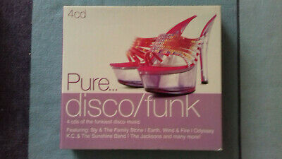 PURE...DISCO / FUNK ~  70s-80s: 4 CDSet Of The Funkiest Disco-Music, 2010, MINT
