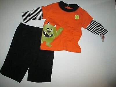 New Boys 3 mths Just One You by Carter's Glow In The Dark Monster Outfit